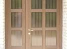 dvokrilna vrata s prečkama
