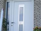 ulazna vrata s fixerom i dekorativnim panelom