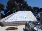 kupola bazena u toku izvođenja