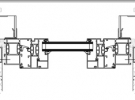Horizontalni presjek bond fasade